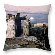 Flevit Super Illam, 1892 Throw Pillow