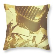 Floorshow Throw Pillow