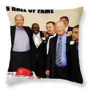 Florida Boxing Hall Of Fame Inaugural Event 2009 Throw Pillow