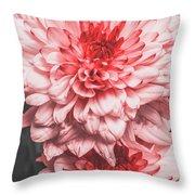 Flower Buds Throw Pillow