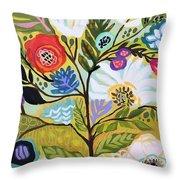 Flower Tree I    Throw Pillow