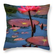 Flowering Beauty Iv Throw Pillow