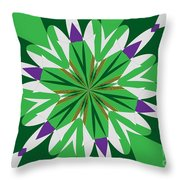 Flowers Number 25 Throw Pillow
