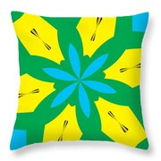 Flowers Number 36 Throw Pillow