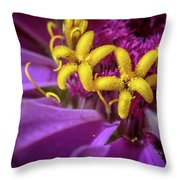 Flowers Within Flowers Throw Pillow