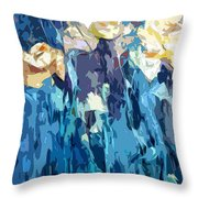Flowery Appearance Throw Pillow