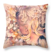 Flutter Your Wings 02 Throw Pillow