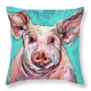Fly, You Say? Throw Pillow