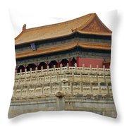 Forbidden City 60 Throw Pillow