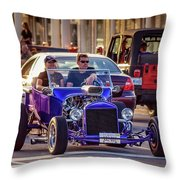 Ford T-bucket Hot Rod Throw Pillow
