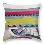 Forest Drums Throw Pillow by John Jr Gholson