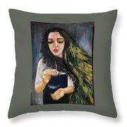 Forest Fairy Throw Pillow