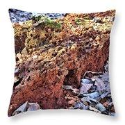 Forest Floor Fuel Throw Pillow