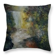 Forest Murmers Throw Pillow