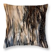 Forest Of Lights Throw Pillow