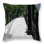 Forest Park Walkway 2019 Throw Pillow