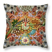 Forms Of Nature #1 Throw Pillow