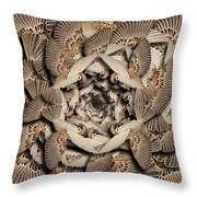 Forms Of Nature #16 Throw Pillow