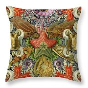 Forms Of Nature #2 Throw Pillow