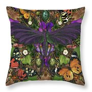 Forms Of Nature #3 Throw Pillow