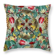 Forms Of Nature #4 Throw Pillow