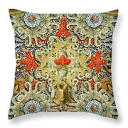 Forms Of Nature #5 Throw Pillow