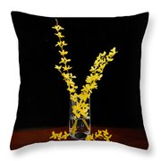 Forsythea Throw Pillow