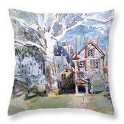 Fort Hunter Sunshine Throw Pillow