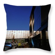 Fort Kinnaird Throw Pillow