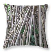 Foster Trees 6 Throw Pillow