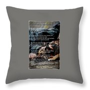 Four Legged Blessing Throw Pillow