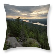 Fourth From Rondaxe Throw Pillow by Brad Wenskoski