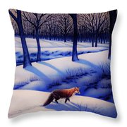 Fox Hunt Creek Throw Pillow