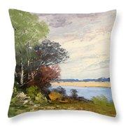 Fox River 1909 Throw Pillow