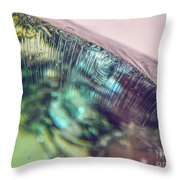 Fractured Glass Throw Pillow