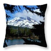 Framed - South Sister Throw Pillow