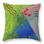 Free Form 1 Throw Pillow