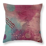Free Form 4 Throw Pillow