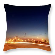 Freedom Square  Throw Pillow