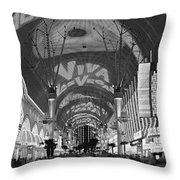 Fremont Street Experience, Las Vegas Throw Pillow
