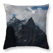 French Alps Region II Throw Pillow