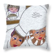 French Chefs Throw Pillow