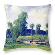 French Farm Throw Pillow