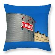 Frisco Museum  Throw Pillow
