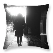 from A 2 Z Throw Pillow