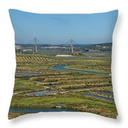 From Algarve To Andalusia Throw Pillow