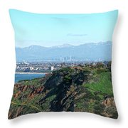 From Pv To La Throw Pillow by Michael Hope