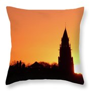 From Randolph Crescent Throw Pillow