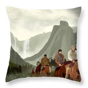 Frontier Trail Throw Pillow