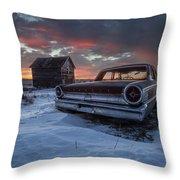 Frozen Galaxie 500  Throw Pillow